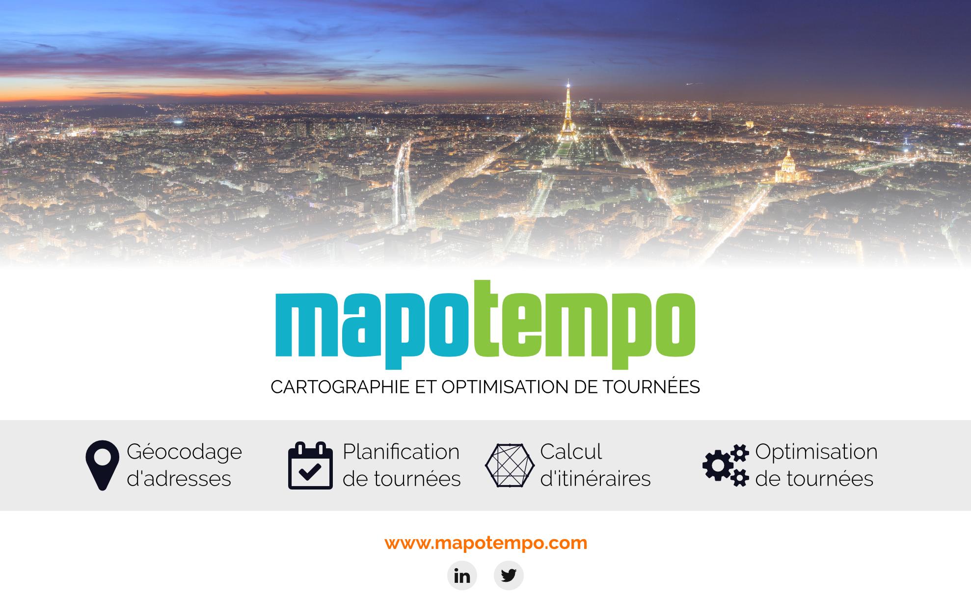 Mapotempo Planification Et Optimisation De Tourn Es