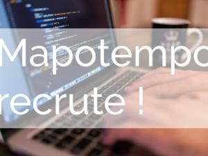 Mapotempo recrute deux développeurs à Bordeaux !