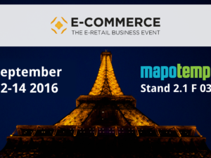 Mapotempo at Paris Retail Week : e-logistics area
