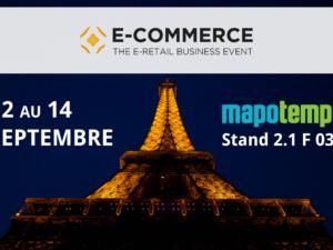 Mapotempo participe au Paris Retail Week : pôle e-logistique