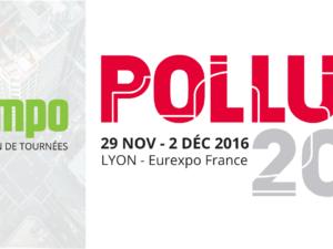 Mapotempo au salon Pollutec 29 Nov au 2 Déc 2016 – stand 4 G 124