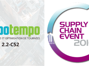 Mapotempo au Supply Chain Event les 22 – 23 NOVEMBRE 2016, stand 2.2-C52