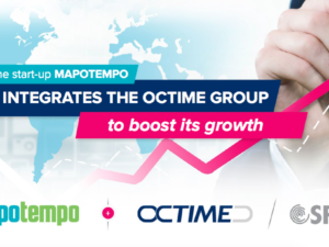 The startup MAPOTEMPO integrates the Octime group to boost its growth