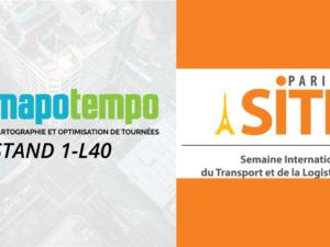 Mapotempo au SITL 14 au 16 mars 2017, stand 1-L40