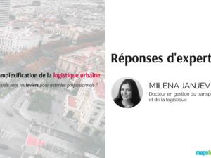 Complexification de la logistique urbaine : quels leviers activer pour y faire face ?