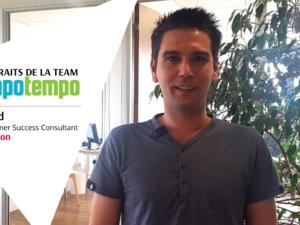 Team Mapotempo : portrait de David, Customer Success Consultant