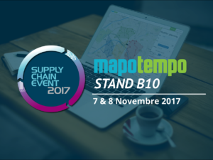 Mapotempo participera au Supply Chain Event les 7 et 8 Novembre 2017