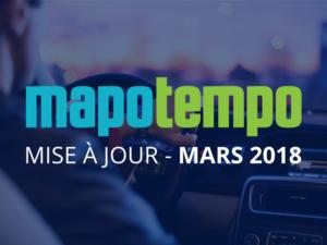 Mars 2018, découvrez les nouveautés de la dernière mise à jour de Mapotempo Web