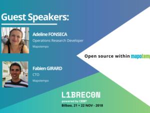 Mapotempo interviendra durant le LIBRECON – 21 et 22 Novembre à Bilbao