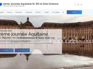 7 février 2019 – Mapotempo intervenant pour la Journée Aquitaine IA, RO et Data Science