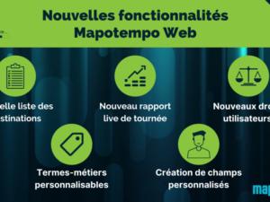 Retrouvez les nouvelles fonctionnalités de la dernière version de Mapotempo