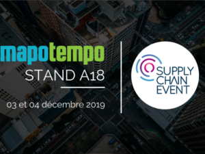 Mapotempo participera au salon Supply Chain Event, les 03 et 04 décembre 2019 à Paris