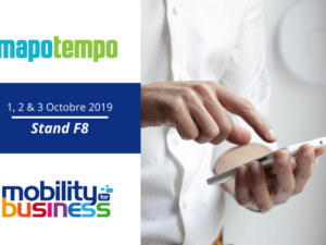 Mapotempo participe à Mobility for Business du 1er au 3 octobre 2019 à Paris, stand F8