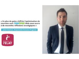 Mondial Relay : cas d'optimisation de tournées e-commerce