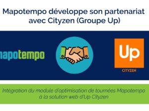 Cityzen (Groupe Up) et Mapotempo développent leur partenariat technologique