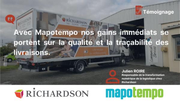 RICHARDSON : Cas d'optimisation de tournées de livraison